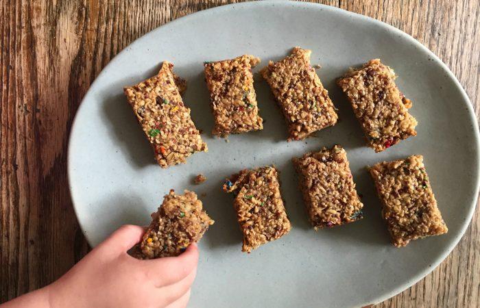Quinoa Peanut Butter Bars - Full Size