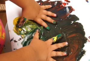 Organizing Kids' Artwork