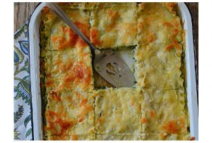 Spinach and Ricotta Lasagna