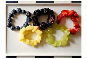 Fruity Salad Rings