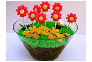 Spring Celebration Garden Cake