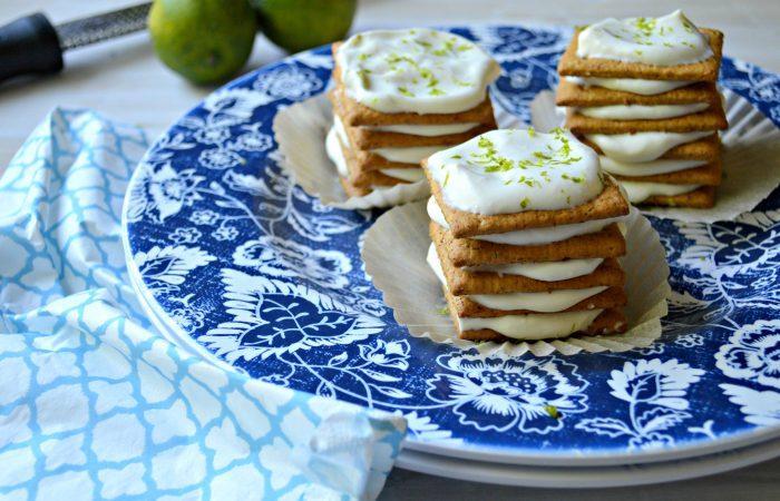 Key Lime Pie Icebox Cupcakes