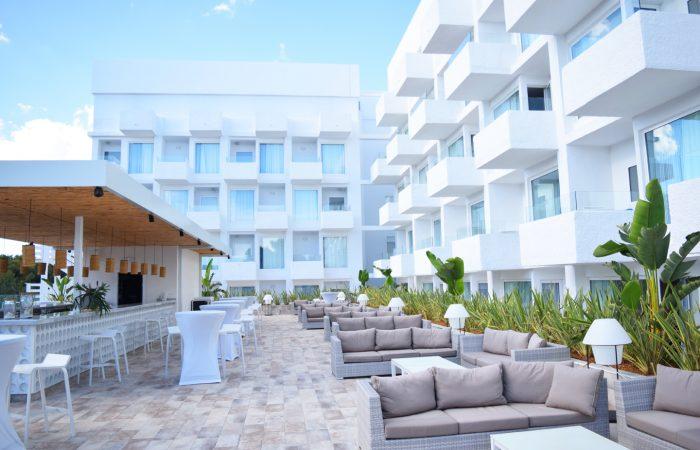 hotel on Mediterranean Sea