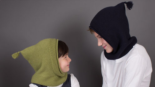 Cashmere hats for kids