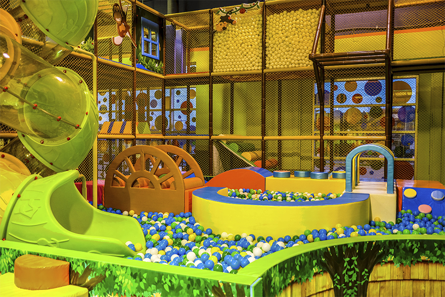 b799074fd Krazy Monkey is a play place our family visits frequently  located close to  Chinook Mall