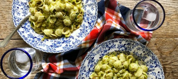 Pasta with Brussels Sprouts