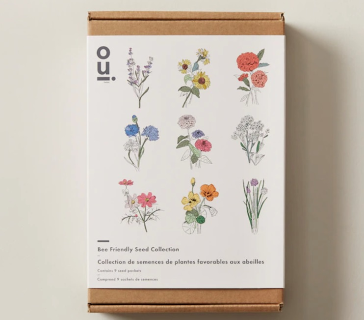 Gifts for the Cottage - Bee-Friendly Seed Collection
