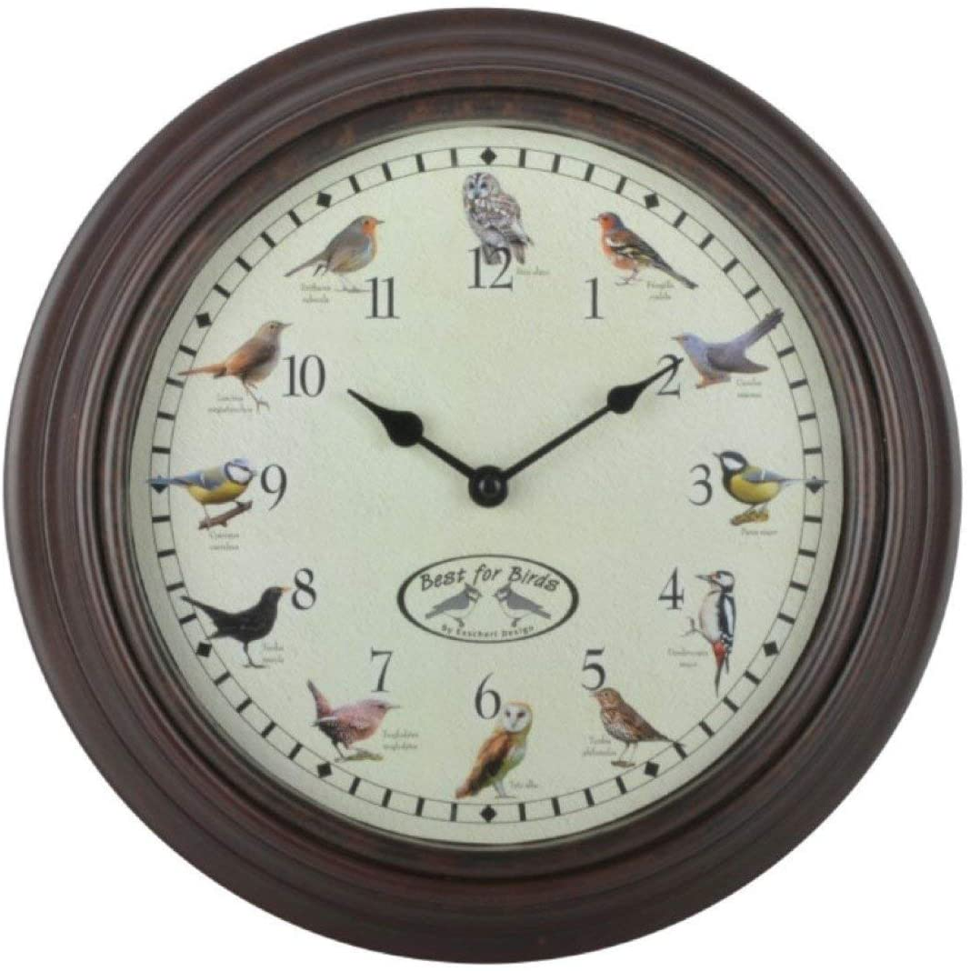 Gifts for the Cottage - Bird Sounds Clock