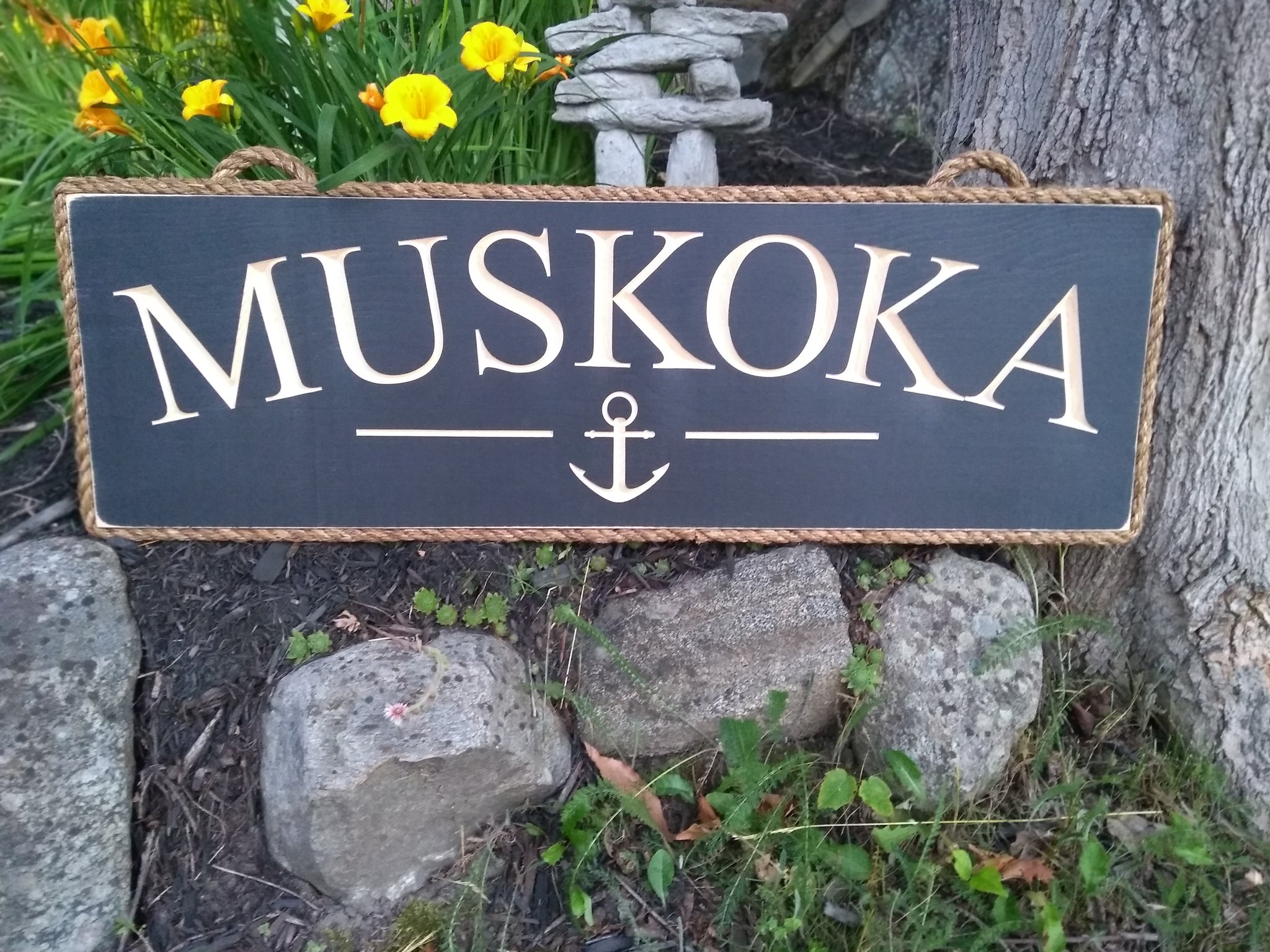 Gifts for the Cottage - Muskoka Sign