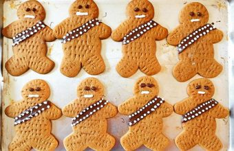 how to make Star Wars Wookiee Cookies