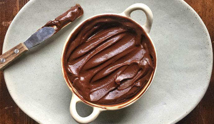 Secret (Healthy) Ingredient Chocolate Frosting