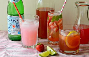 Naturally Sweetened Herbal Iced Tea