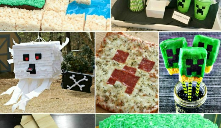 photograph about Minecraft Party Ideas Printable called The Optimum Incredible Minecraft Bash Designs: Crafts! Foodstuff! Game titles
