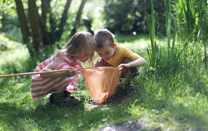 We know that kids do better when they spend more time outside in a natural environment. But how to do that? We found 12 ways to get them learning about nature, animals, and plants—like an outdoor classroom, but way more fun.