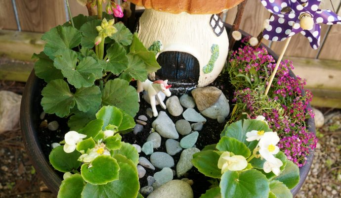 Fairy garden final from above