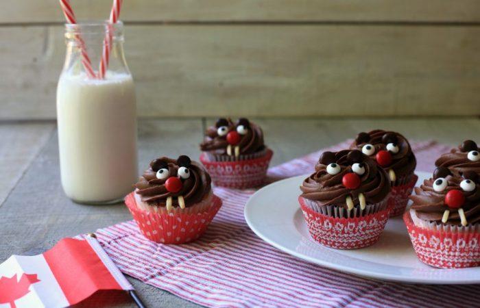 Beaver Cupcakes - Full Size