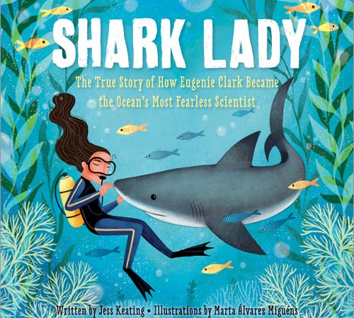 Shark Lady finished cover