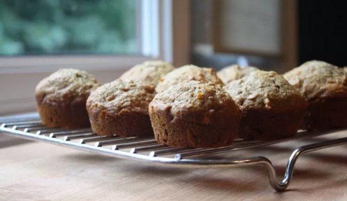 Carrot Applesauce Muffins