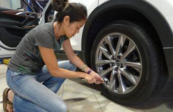 2017 Mazda CX9 Tire Pressure Check Full