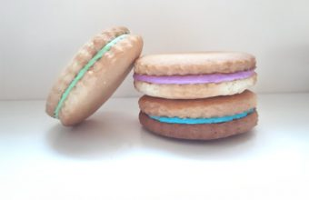 Sandwich Cookies {with marshmallow cream filling}
