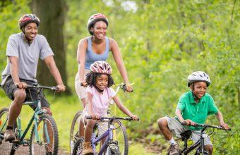 Toronto Bike Paths for Families - Sunnybrook Park