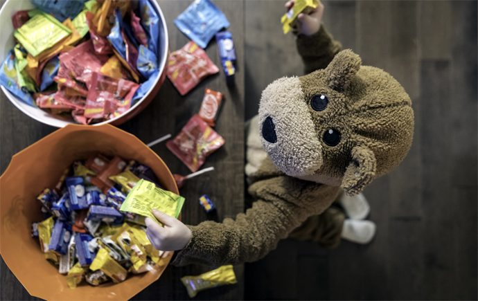 12 Great Ideas for Using Up Halloween Candy