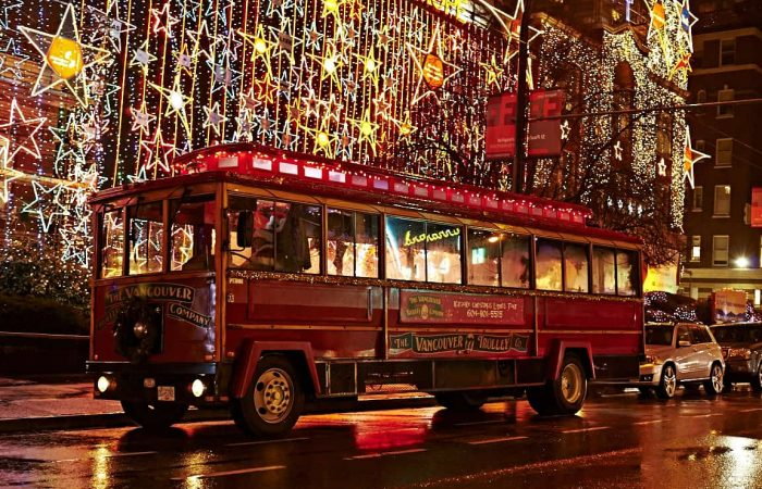 Karaoke Christmas Lights Trolley Tour