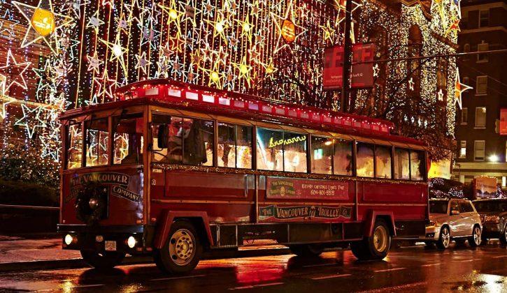 Karaoke Christmas Lights Trolley Tour