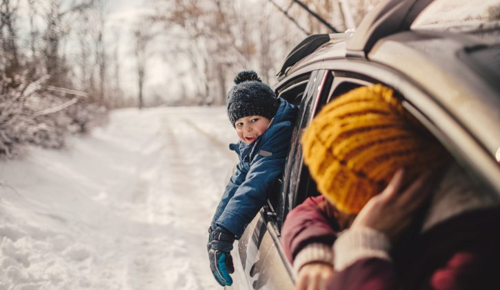 Family Winter Road Trips