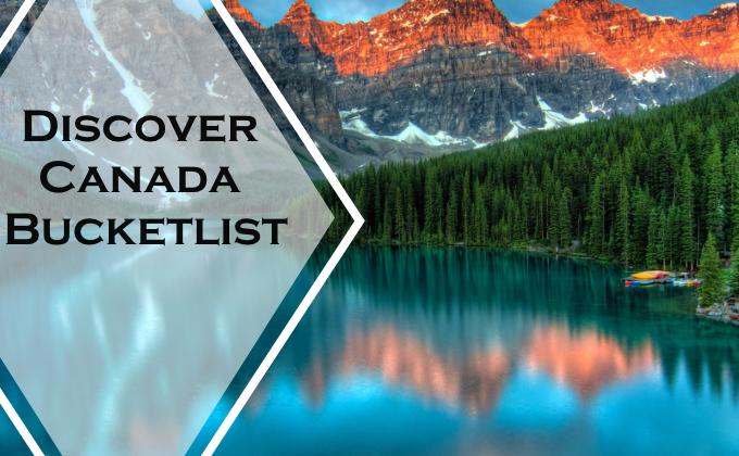 Discover Canada Bucket list for families via www.parentclub.ca