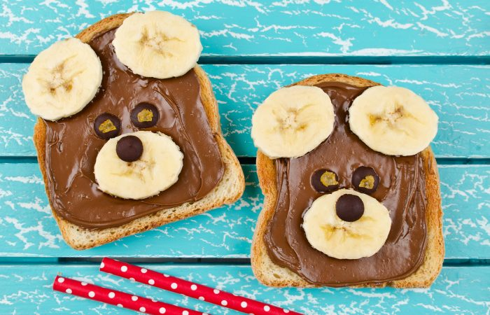 Toast toppings for toddler