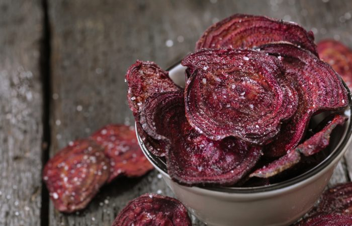 Sea Salted Beet Chips