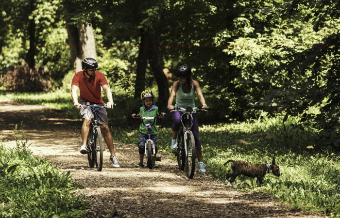 Family Bike Paths Vancouver