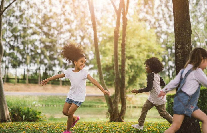 Outdoor Play that Promotes Development
