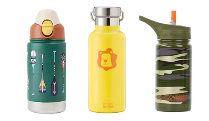Non Plastic Water Bottles for Kids