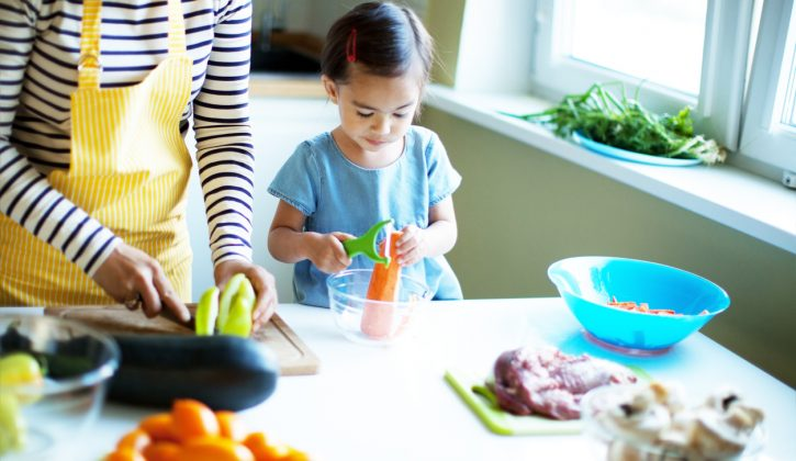Age appropriate cooking tasks for kids
