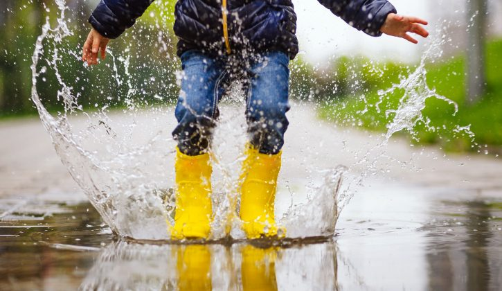 Things To Do Outside When It's Raining