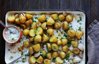 Roasted Potatoes with Herbs, 5 Summer Side Dishes