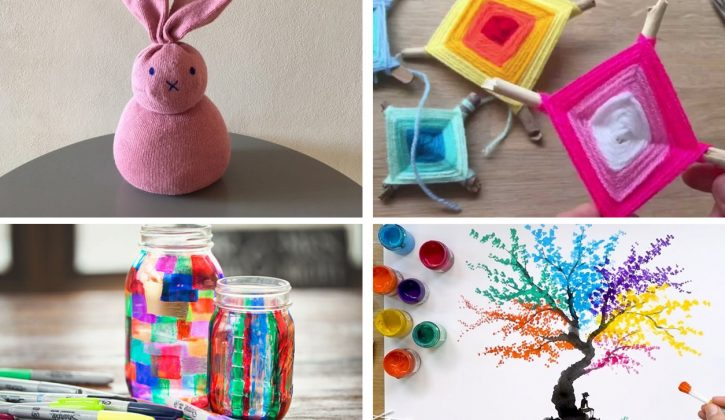 Easy Crafts for Sick Days