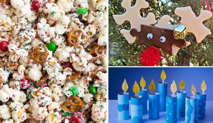 holiday activities crafts and snacks