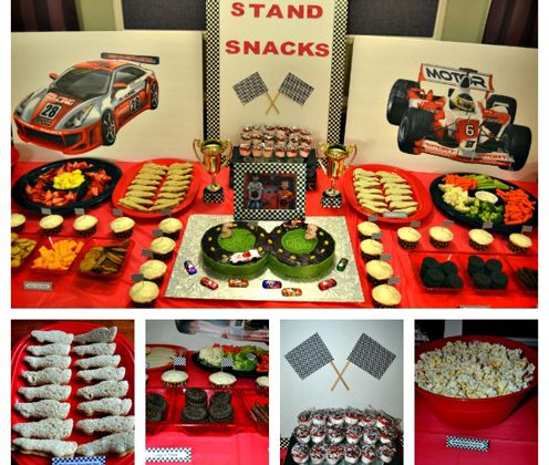 Partying with Kids: Owen and Jack's Race Car Party - SavvyMom