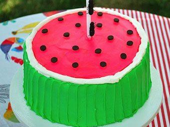 WatermelonBirthdayCake