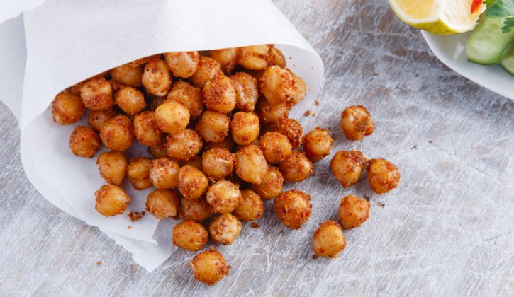 Roasted Chickpeas with Spices