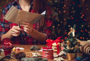 Christmas DIY Woman