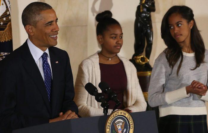 President Obama Pardons National Thanksgiving Turkey At Annual Ceremony