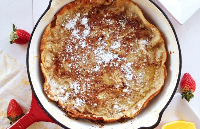Apple-Baked-Dutch-Baby-A-Pretty-Life
