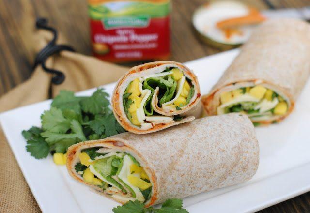Spicy-Chipotle-Smoked-Turkey-Mango-Wrap-2
