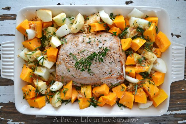 Herb-Roasted-Pork-Butternut-Squash-Apples-A-Pretty-Life2
