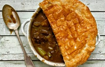 Guinness and Beef Pot Pie