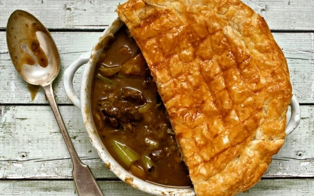 St. Patrick's Day Guinness and Beef Pot Pie Recipe